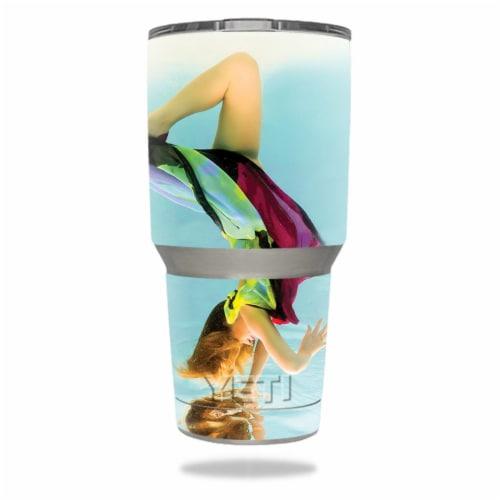 MightySkins YERAM30-Ethereal Swim Skin for Yeti 30 oz Tumbler - Ethereal Swim Perspective: front