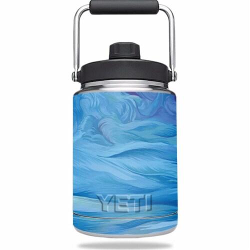 MightySkins YERAMJUG-Cell Phone Towers Skin for Yeti 0.5 gal Jug - Cell Phone Towers Perspective: front