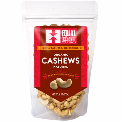 Equal Exchange Organic Natural Cashews Perspective: front