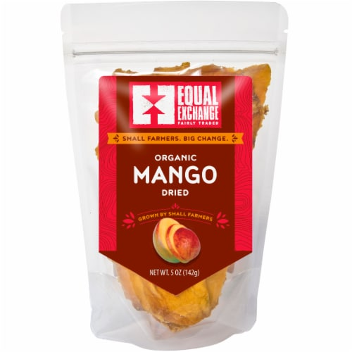 Equal Exchange Organic Dried Mango Perspective: front