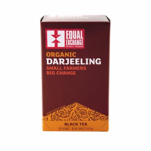 Equal Exchange Organic Darjeeling Tea Bags Perspective: front