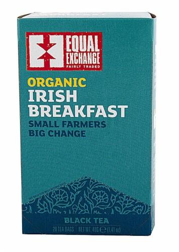 Equal Exchange  Organic Irish Breakfast Black Tea Perspective: front