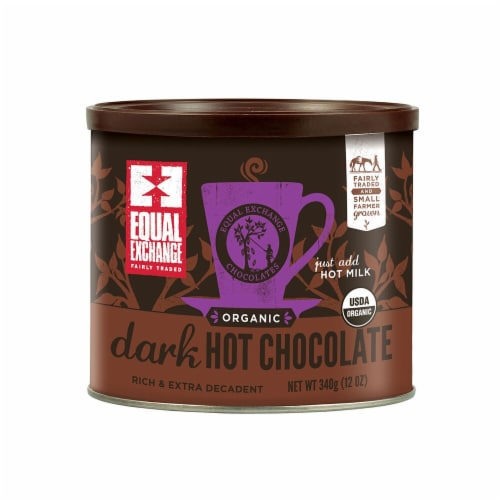 Equal Exchange Organic Dark Hot Chocolate Perspective: front