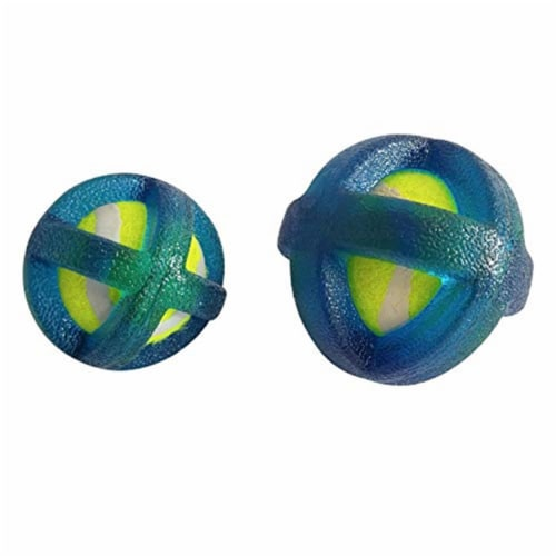 OCI 49 American Pet TPR Coated Tennis Ball Set for Dog Perspective: front