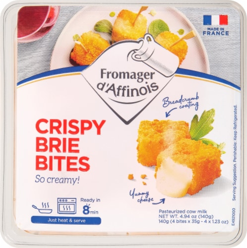 Fromager d' Affinois Crispy Brie Bites Perspective: front