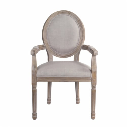 Captains Chair (Set of 2) 23.5 x39 H Wood Perspective: front