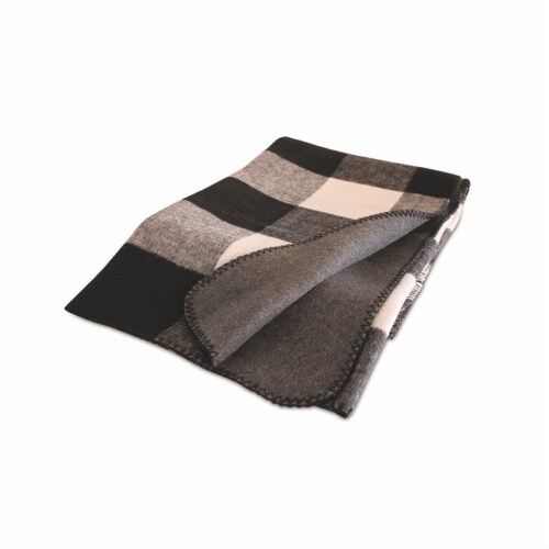 Plaid Throw 57 L x 63 W Acrylic Perspective: front