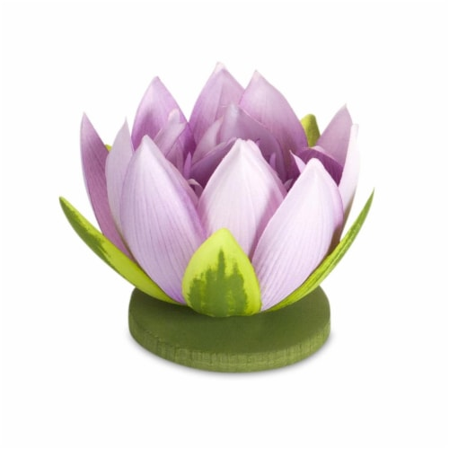 Lotus (Set of 12) 4  x 4 H Polyester Perspective: front