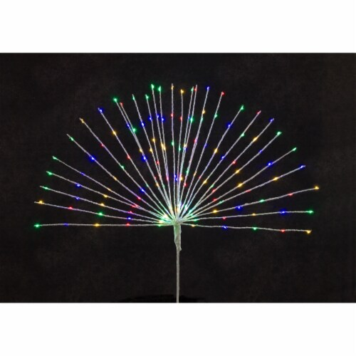 LED Starburst Tree Topper 30 W x 31 H 150 Lights UL Plug (Set of 2) Perspective: front