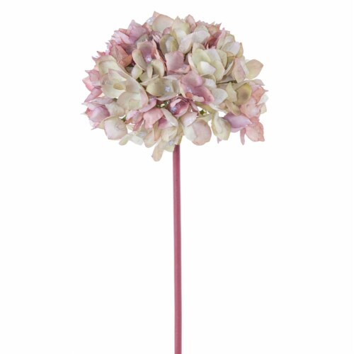 Hydrangea 19 H (Set of 12) Polyester Perspective: front