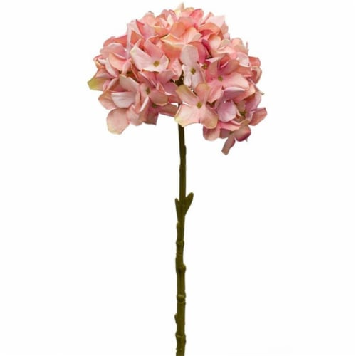Hydrangea Stem (Set of 12) 18 H Polyester Perspective: front