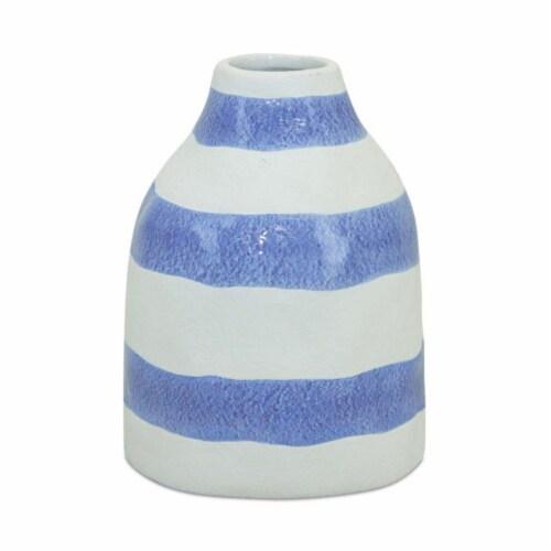 Vase (Set of 4) 5.25 L x 6.75 H Ceramic Perspective: front