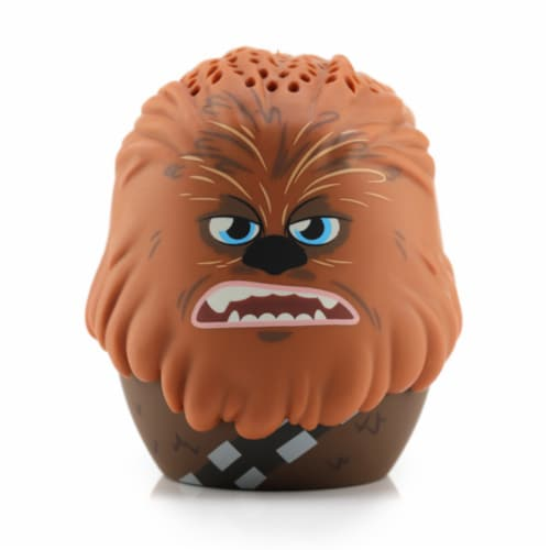 Bitty Boomers Chewbacca Wireless Bluetooth Speaker - Brown Perspective: front