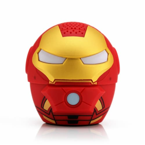 Bitty Boomers Iron Man Bluetooth Speaker Perspective: front