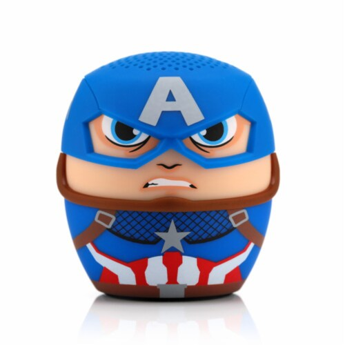 Bitty Boomers Captain America Bluetooth Speaker Perspective: front