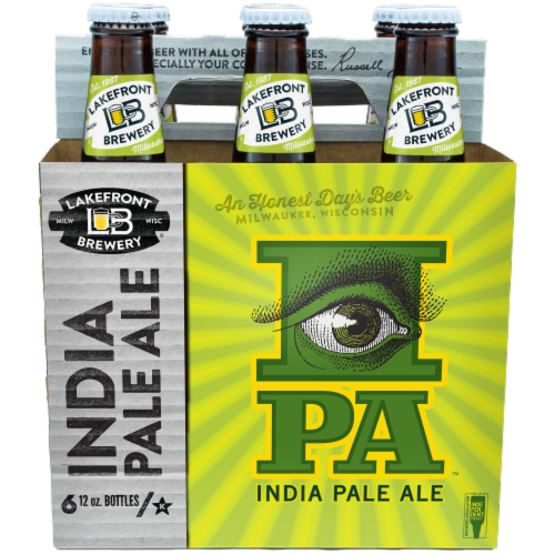 Lakefront Brewery IPA Perspective: front