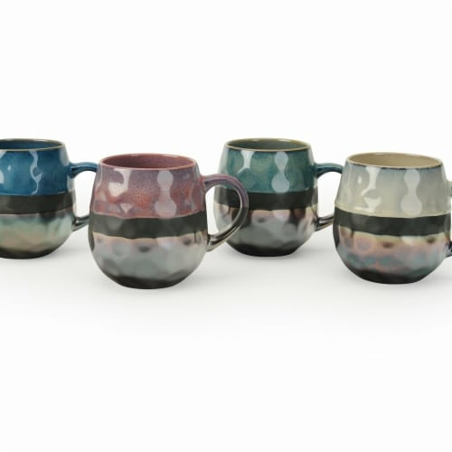 Sarah Mugs - Set of 4 Perspective: front