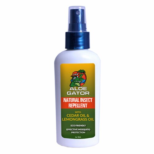 Natural Insect Repellent Pump Spray Perspective: front