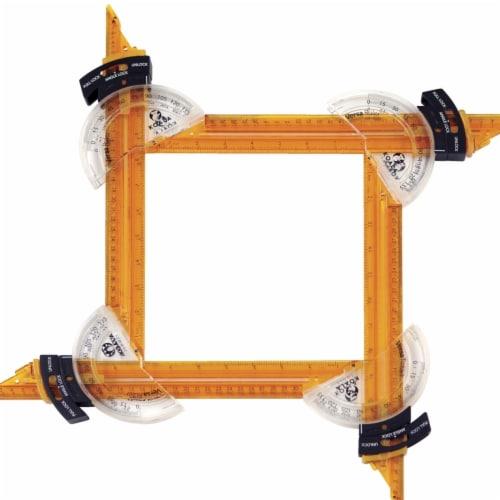 Versa Ruler Multi-Sided Ruler, Shape-Making Ruler Set Perspective: front