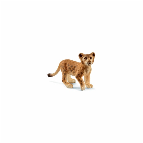 Lion Cub Toy for Ages 3 & Up - Brown Perspective: front