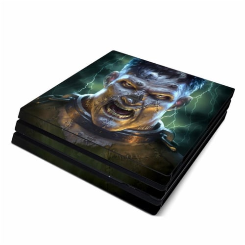 DecalGirl PS4P-FRANK Sony PS4 Pro Skin - Frankenstein Perspective: front