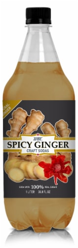 WBC Spicy Ginger Craft Soda Perspective: front