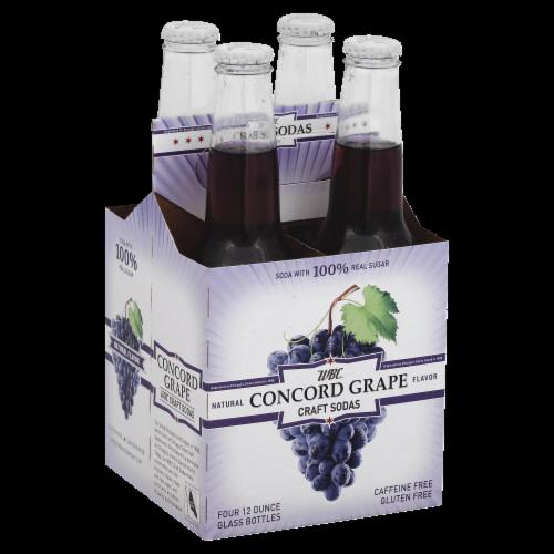 WBC Concord Grape Craft Soda Perspective: front