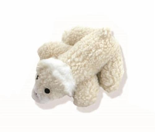 Mammoth Lambswool Dog Toy Perspective: front