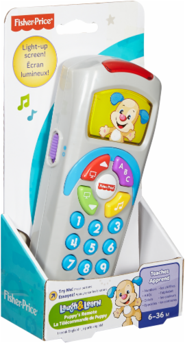 Fisher-Price® Laugh and Learn Click 'n Learn Remote Perspective: front