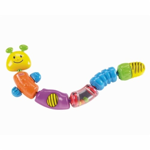 Fisher-Price Snap-Lock Caterpillar Perspective: front
