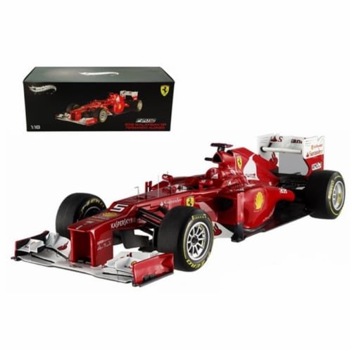 Hot wheels X5484 F2012 Fernando Alonso Malaysia GP 2012 F1 Elite Edition Limited to 5000 Piec Perspective: front