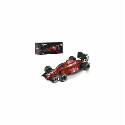 Hot wheels X5517 Ferrari F1-89 No.27 Nigel Mansell Hungary GP 1989 Elite Edition 1-43 Diecast Perspective: front