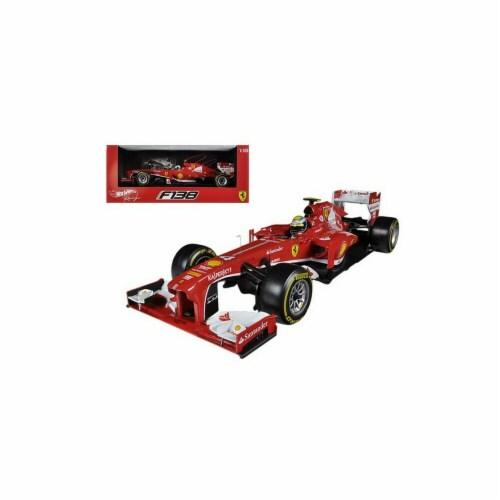 Hot wheels BCK15 Ferrari F2013 F138 Felipe Massa Formula 1 2013 F1 1-18 Diecast Car Model Perspective: front