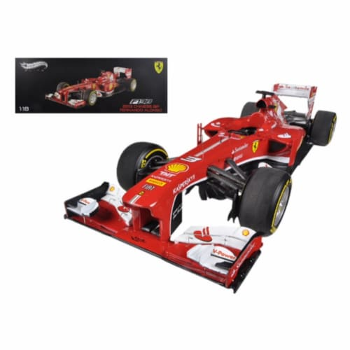 Hot wheels BCT82 Ferrari F1 F138 Fernando Alonso China GP 2013 Elite Edition 1-18 Diecast Car Perspective: front
