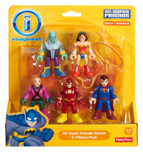 Fisher-Price® Imaginext® DC Super Friends Figure Pack - Assorted Perspective: front