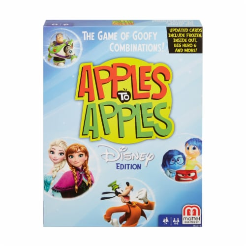 Mattel Disney Edition Apples to Apples Perspective: front
