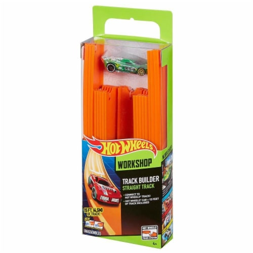 Hot Wheels 15 Ft Track With Car Perspective: front
