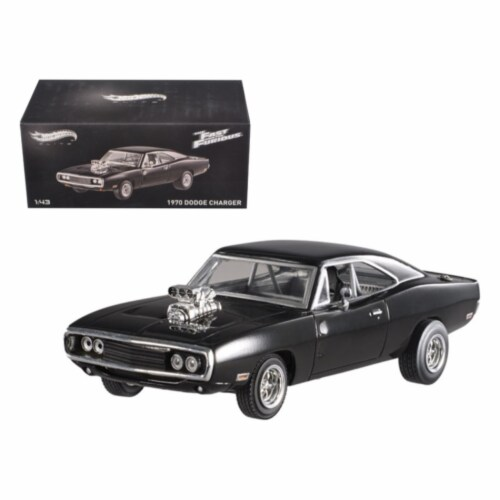 1970 Dodge Charger Elite Edition \The Fast & Furious\ Movie 2001 1/43 Diecast Car Model Perspective: front