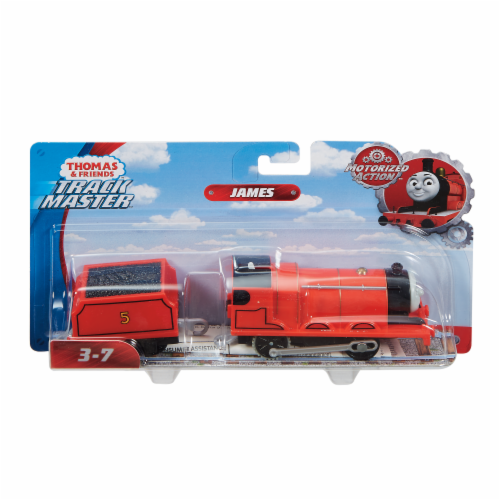 Fisher-Price® Thomas & Friends TrackMaster James Motorized Train Perspective: front