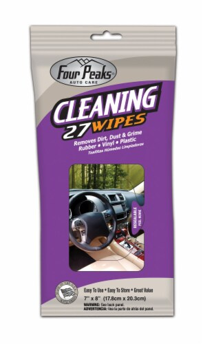 Four Peaks Cleaning Wipes Perspective: front