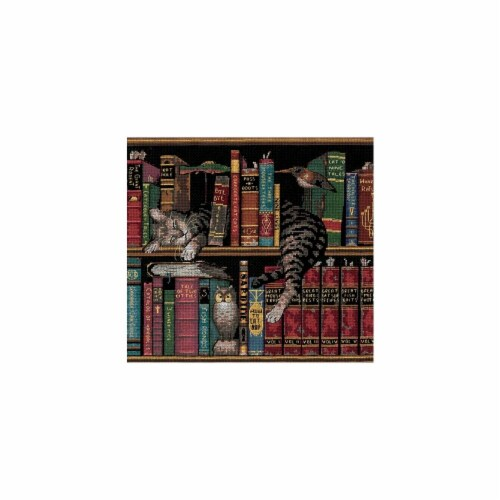 Frederick The Literate Counted Cross Stitch Kit-12''X11'' 14 Count Perspective: front