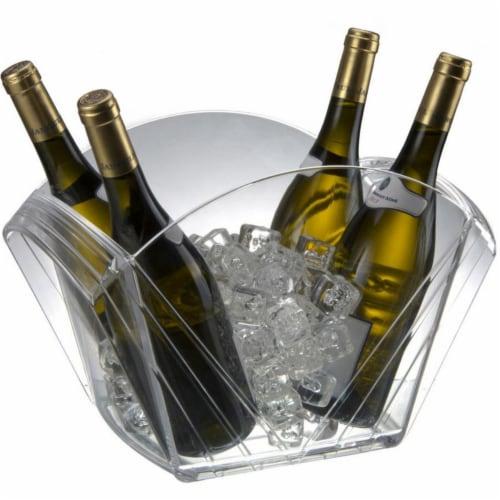 Lux Party Tub, Bottles & Plenty Perspective: front