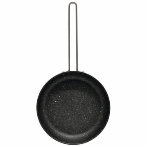 Usa Inc Fry Pan Black Stainless steel Wire Handle, 6.5 in. Perspective: front