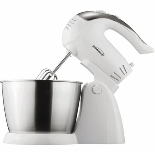 5-speed Stand Mixer With Bowl Perspective: front