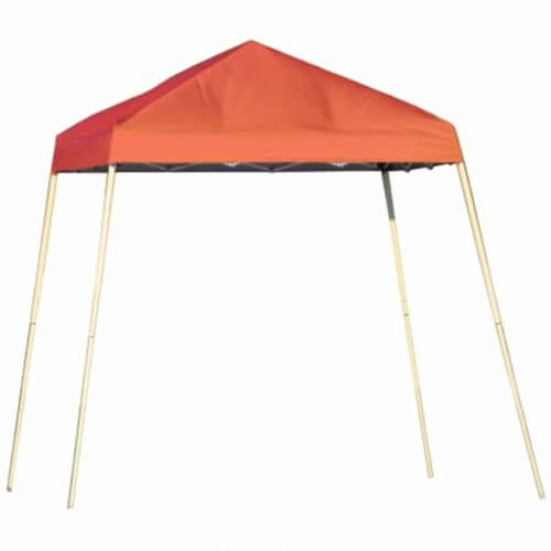 10x10 SL Pop-up Canopy, Terracotta Cover, Black Bag Perspective: front