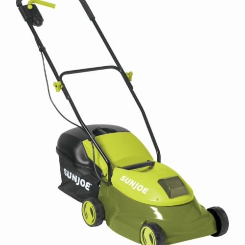 Cordless Lawn Mower with Brushless Motor - 14 in. 28V  5 Ah Perspective: front