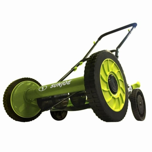 16 in. Classic Quad Wheel 6-Position Reel Mower Perspective: front