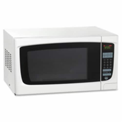 Microwave, 1.4 CF, 21.75 in. x 18 in. x 12.25 in., 1000 Watts, White Perspective: front