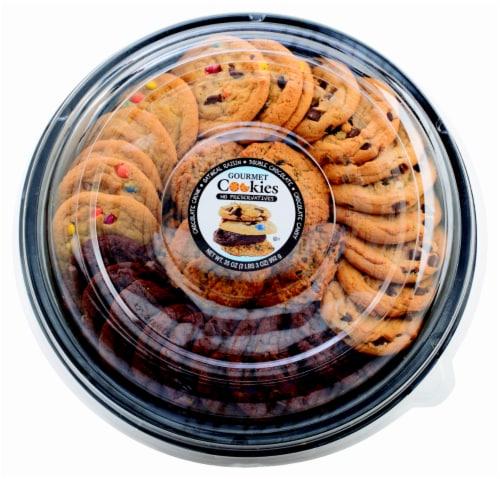 Jimmy's Cookies Gourmet Cookie Platter Perspective: front