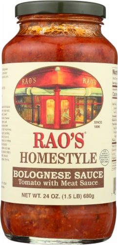 Rao's Homestyle Bolognese Sauce Perspective: front
